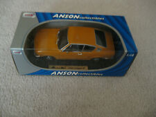 ANSON COLLECTIBLES AUDI 100 COUPE S CAR MODEL 1:18 SCALE