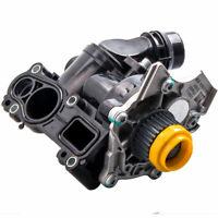 Water Pump Thermostat Assembly For Audi VW Golf Jetta GTI Passat Tiguan 1.8T 2.0