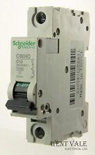 Schneider Multi 9 - C60HC110 - 10a Type C Single Pole MCB New