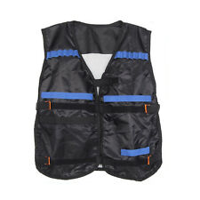 Top Tactical Vest For 12 Darts and 4 Ammo Clips In Nerf Elite N Strike Games N9J