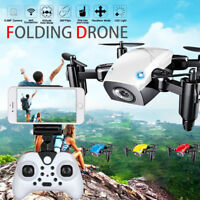 S9 2.4G Altitude Hold 0.3MP HD Camera Foldable WIFI Quadcopter Pocket RC Drone