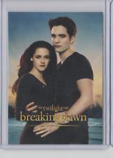 Twilight Saga Breaking Dawn Part 2 Trading Card #1 Bella And Edward