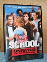 Old School (DVD, 2003) NEW Will Ferrell Luke Wilson college frathouse comedy