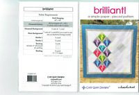 Brilliant by Cozy Quilt Designs Quilt Pattern - Wall Hanging