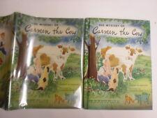 Carmen the Cow, McCracken, Susanne Suba, DJ, 1946, 1st Edition, Slottie Toys