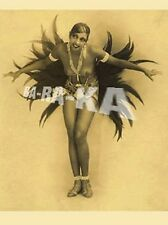 FRENCH NUDE BLACK DANCER JOSEPHINE BAKER FOLLIES BERGERE BURLESQUE PARIS PHOTO 2