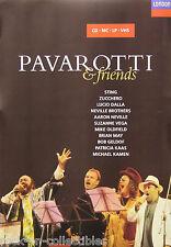 Pavarotti & Friends Sting Brian May 1993 Original Promo Poster