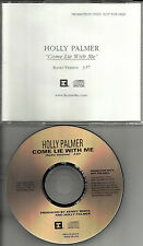 HOLLY PALMER Come lie with me w/ RARE VERSION PROMO DJ CD single Idina Menzel