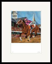 2019 Kentucky Derby Art Print of Maximum Security Oil Signed Equine SFASTUDIO