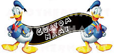 Donald Duck Room Decor -  Wall Decal Removable Sticker CUSTOM NAME