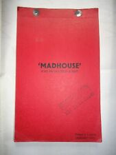 AMICUS/MADHOUSE/british POST PRODUCTION SCRIPT