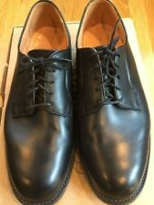 MARK MCNAIRY MADE IN ENGLAND BLACK WHOLECUT DERBY SHOE SIZE US 9.5