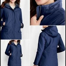 new Lands End Women's Regular Squall Parka Size XS XSmall 2-3 MSRP $169.00