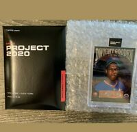 FREE SHIPPING Topps Project 2020 Dwight Gooden by Ben Baller #86 IN HAND