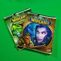 World of Warcraft and Burning Crusade Brady Games Battle Chest Strategy Guides!