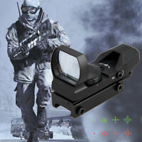 Sight Reflex Tactical Red Green Dot 20mm Holographic Metal Scope For Gel Blaster