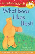 What Bear Likes Best! (Ready Steady Read), Ritchie, Alison, New condition, Book