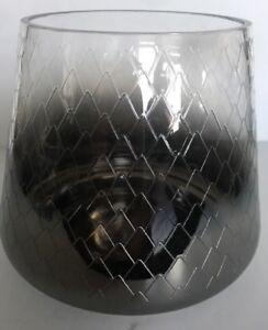 YANKEE CANDLE Holiday Glow MEDIUM Pillar Jar Holder NIB