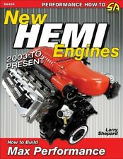 New Hemi Engines 2003 To Present How To Build Max Performance - Book SA404