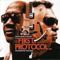 Tony Remy - First Protocol: Incognito Guitars [CD]