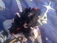 Vintage Robot Anti-Terror Squad - Twin Horn - Black & White Triceratops Toy