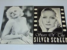 Jean Harlow and Greta Garbo Postcards