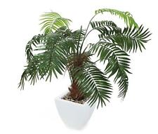 "Closer2Nature Artificial 3ft 6"" Kentia Palm Tree - Portofino Planter Not..."