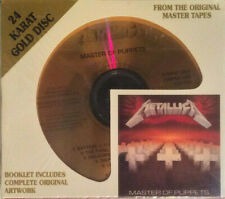 Metallica - Master Of Puppets  DCC Gold CD (Remastered)