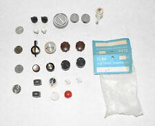 Lot of 23 New Old Stock Vintage Radio Bakelite/Plastic Knobs~Elba Electronics