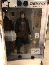 Sherlock tv series Sherlock,  benedict cumberbatch  5 inch  figure  set