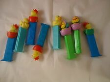 Large Lot of Rubber Duckie Pez Dispensers Ducks Easter