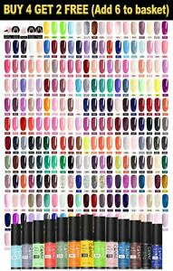 CANNI® Mini UV LED Nail Gel Polish Soak off Varnish Base Top Colour Coat 5ML
