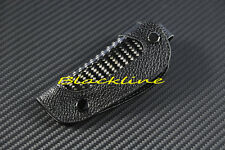 For Mitsubishi Eclipse Galant Lancer Carbon Leather Remore Key COVER HOLDER EVO