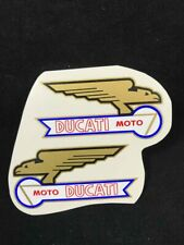 Ducati 48 50 65 90 100,single bevel 100-350, tank decal.Water Transfers set L+R