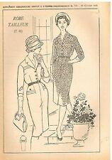 """Patron de Couture """"Femmes d'Aujourd'hui"""" N°720 Robe Tailleur Taille 48"""