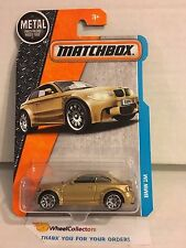 BMW 1M * GOLD * Matchbox 2016 * Case A * h49