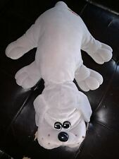 "Vintage Tonka Gray Pound Puppies Puppy Large Plush 1985 Gray 18"" Dog Collectible"