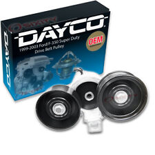 Dayco Drive Belt Pulley for 1999-2003 Ford F-350 Super Duty 7.3L V8 - tn