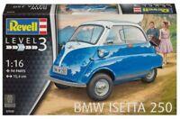 REVELL 1:16 KIT AUTO BMW ISETTA 250  LUNGHEZZA 15,4 CM  94 PARTI  ART 07030