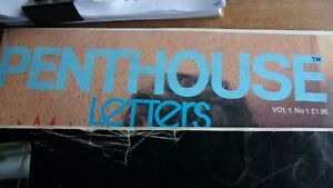 Collectable Penthouse Letters - Vol 1 - No 1 - 1984
