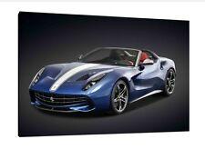 Ferrari F60 30x20 pulgadas lienzo de América-enmarcado cuadro impresión exhiben Pared Arte