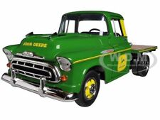 1957 CHEVROLET FLATBED TRUCK JOHN DEERE 1/25 DIECAST MODEL BY SPECCAST 78284