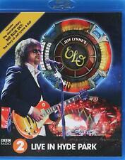 JEFF LYNNE ELO - LIVE IN HYDE PARK + MR BLUE SKY DOCO Blu-Ray ~ LYNNE'S *NEW*