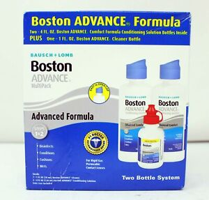 Bausch + Lomb Boston Advance MultiPack Conditioning Solution with Cleaner