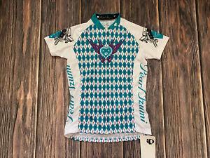 Pearl Izumi For Women Biking Cycling Jersey Semi Fitted Size Small NEW