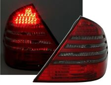 2 FEUX ARRIERE LED ROUGE FUME SMOKE MERCEDES CLASSE E W211 270 CDI