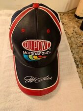Jeff Gordon Motorsports DuPont NASCAR Cap Vintage Ltd Edition Faux Leather New
