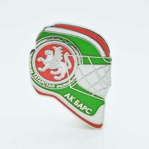 "KHL Ak Bars Kazan ""Helmet"" pin, badge, lapel, hockey"