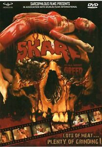 Skare DVD Sarcophilous Films NEW UNSEALED Michael J. Murphy 2009 Indie Horror