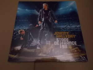 Johnny Hallyday double 33 t Stade de France 98-Xxème Anniversaire neuf emballé